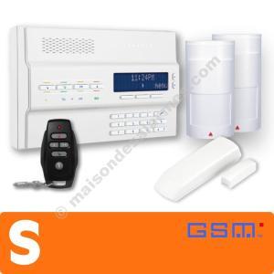PACK ALARME SANS-FIL GSM (S) Blanc