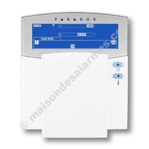 CLAVIER LCD PARADOX K37 (fermé)