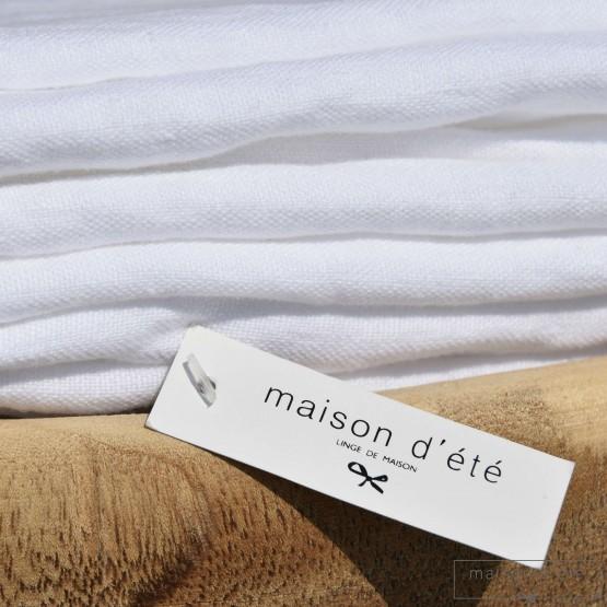 lin lave blanc epais