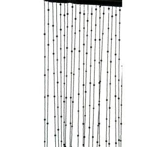 rideau fil deco avec boules curtain