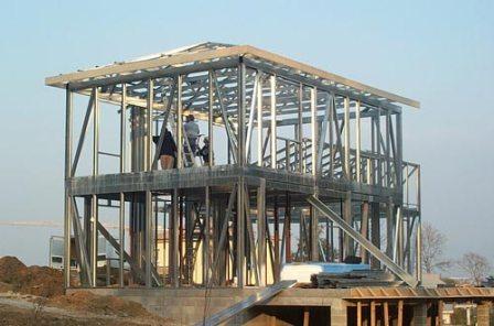Etapes De Fabrication Et Construction De Maison Mtallique