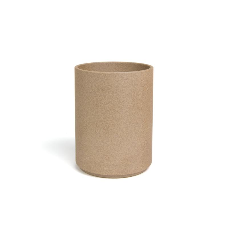 pot a ustensiles gris par hasami porcelain chez maison godillot