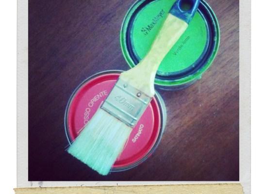 dipingere mobili colori fluo