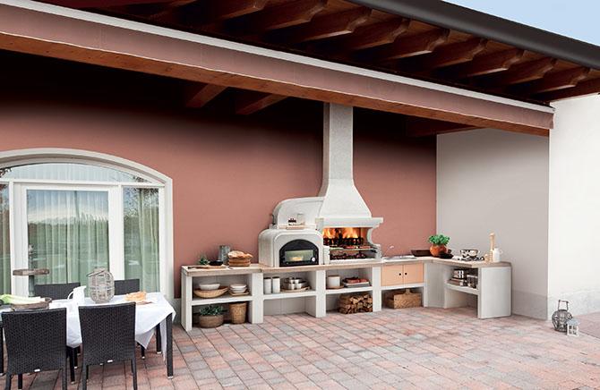 Cucine esterne e sistemi modulari flessibili maisonlab for Cucine modulari