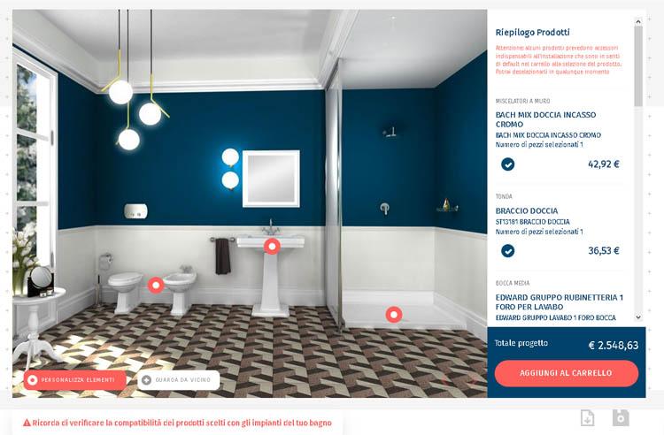 Bagno classico guida alla ristrutturazione maisonlab - Configuratore 3d bagno ...
