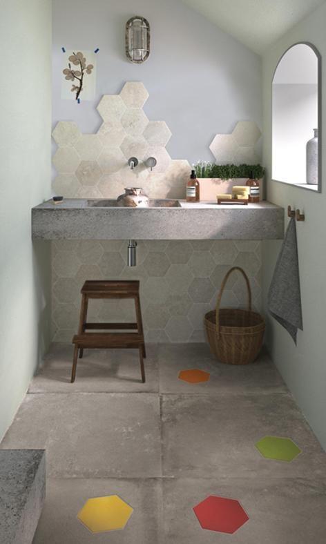 Ristrutturare il bagno spunti per il mio bagno ideale for Piastrelle cucina bianche quadrate