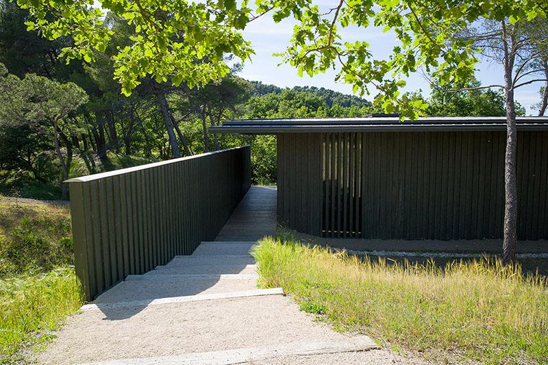 Tadao Ando 4 cubes