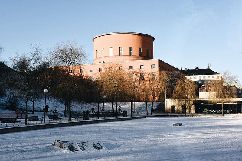 architettura moderna a Stoccolma