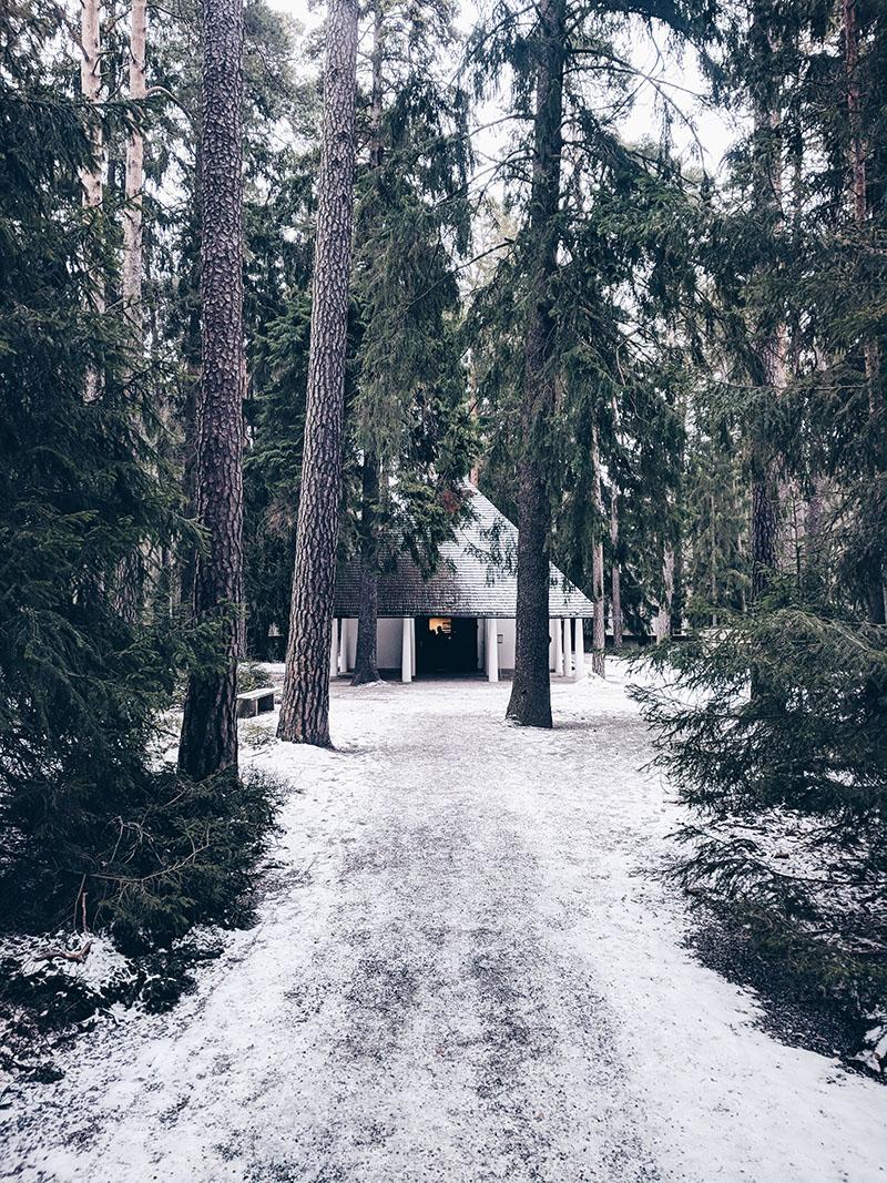 Cimitero Skogskyrkogarden Stoccolma