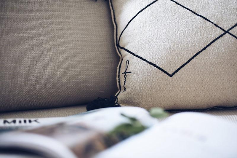 cuscino in cotone lorena canals