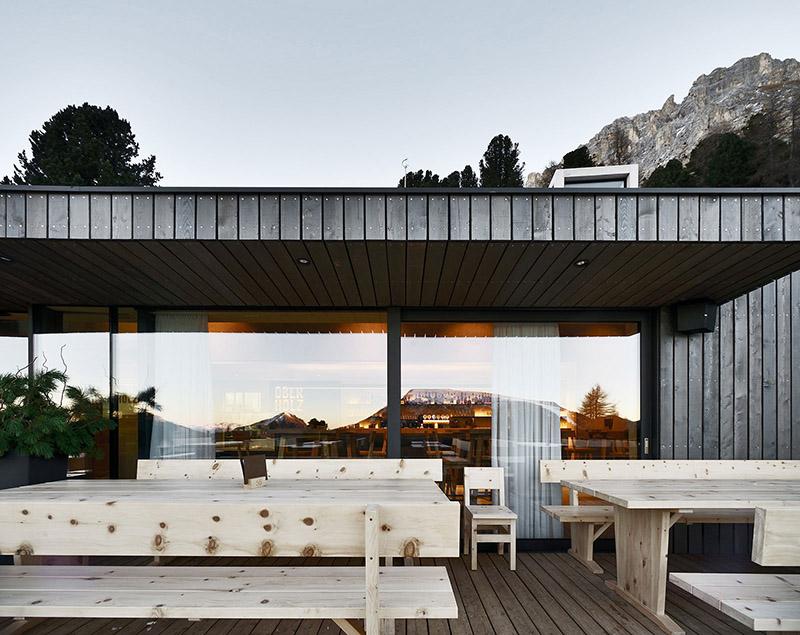 rifugio oberholz-esterno