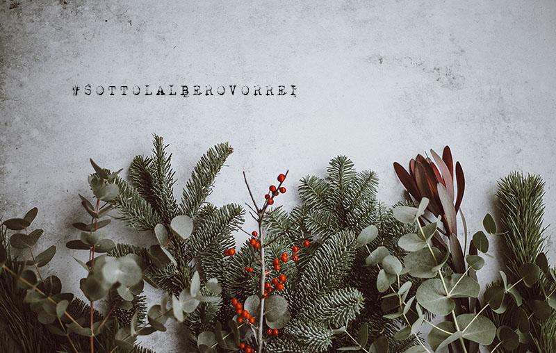 sotto l'albero vorrei