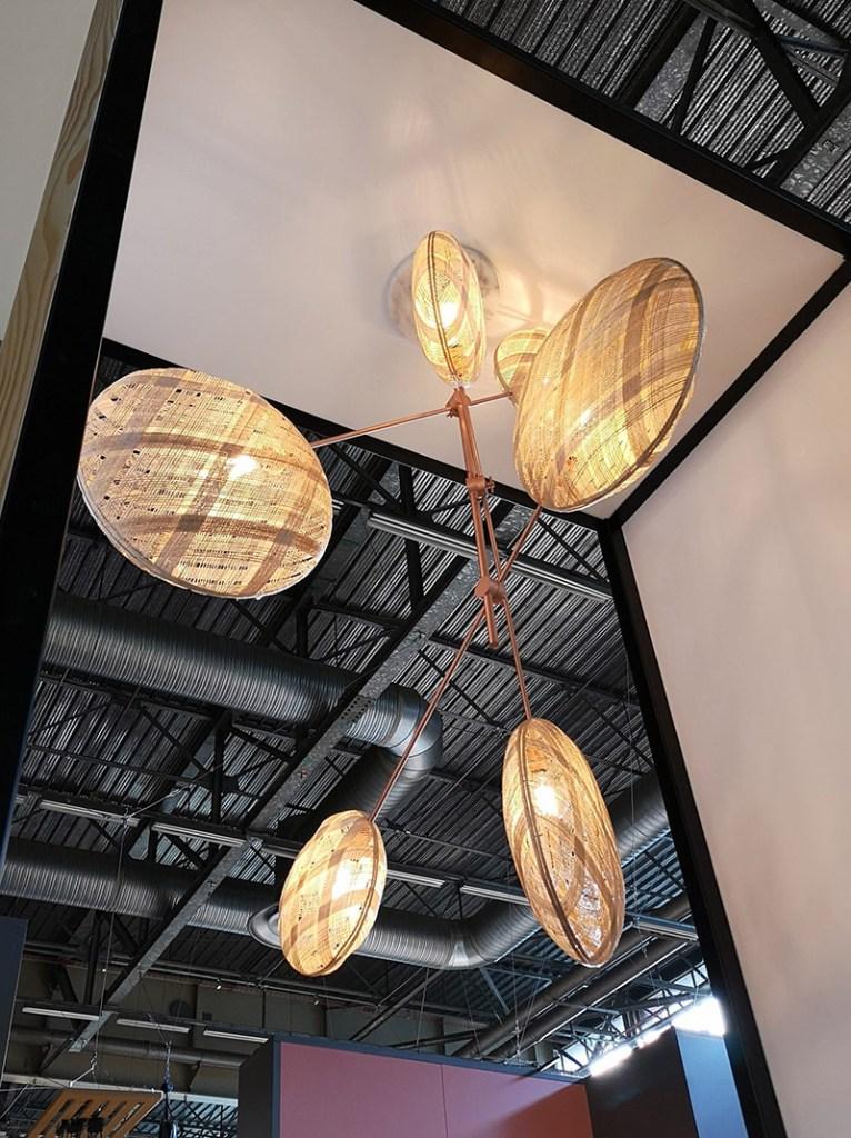 maison et objet 2019 lampade forestier