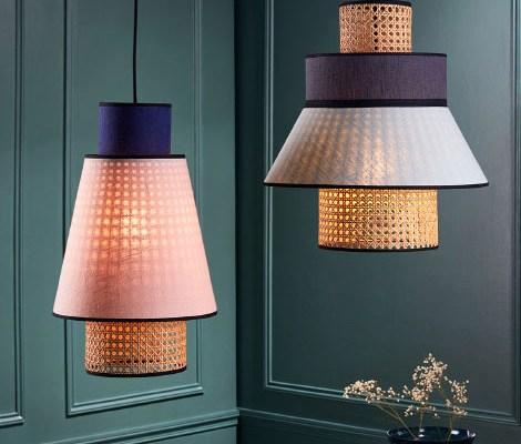 maison et objet 2019 market set illuminazione in paglia di vienna
