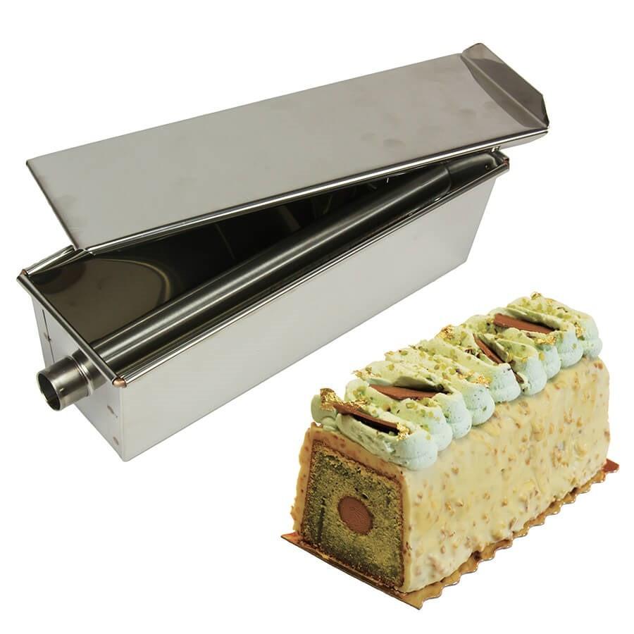 moule a cake inox avec insert tube 25 cm