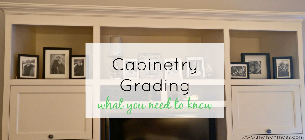 Cabinetry Grading – What You Need To Know