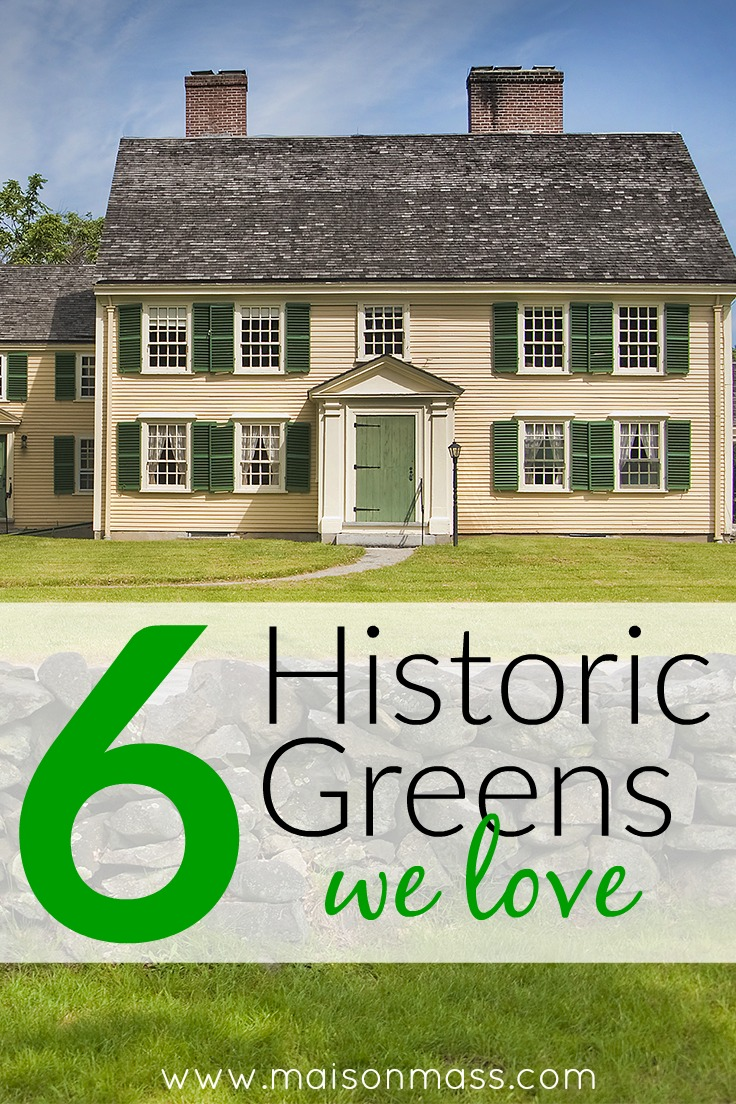 6 Historic Green Paint Colors We Love