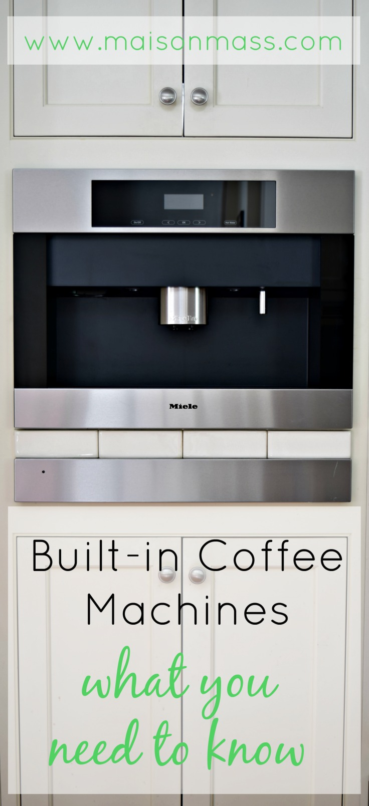 Built-in Coffee Machines: What You Need To Know