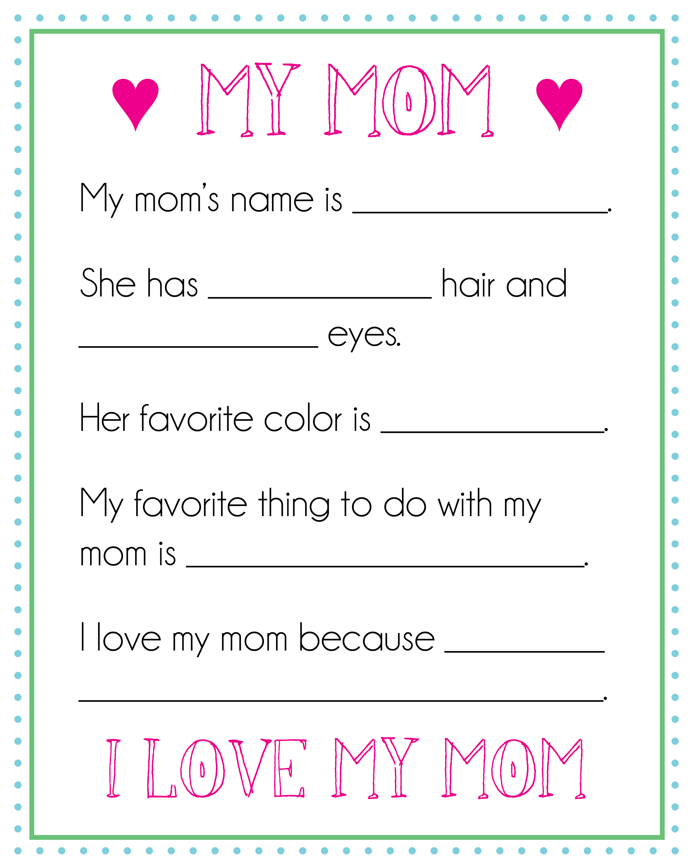 Three Easy Diy Kids Mother S Day Ts Maison Mass