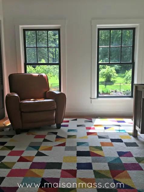 Office overhaul, painting windows black