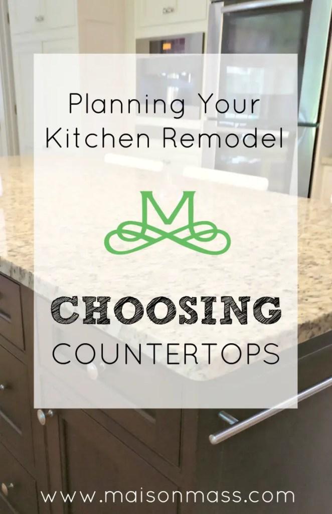 Choosing Countertops