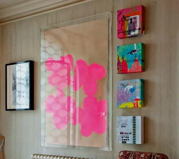 Showcase schoolwork; acrylic frames