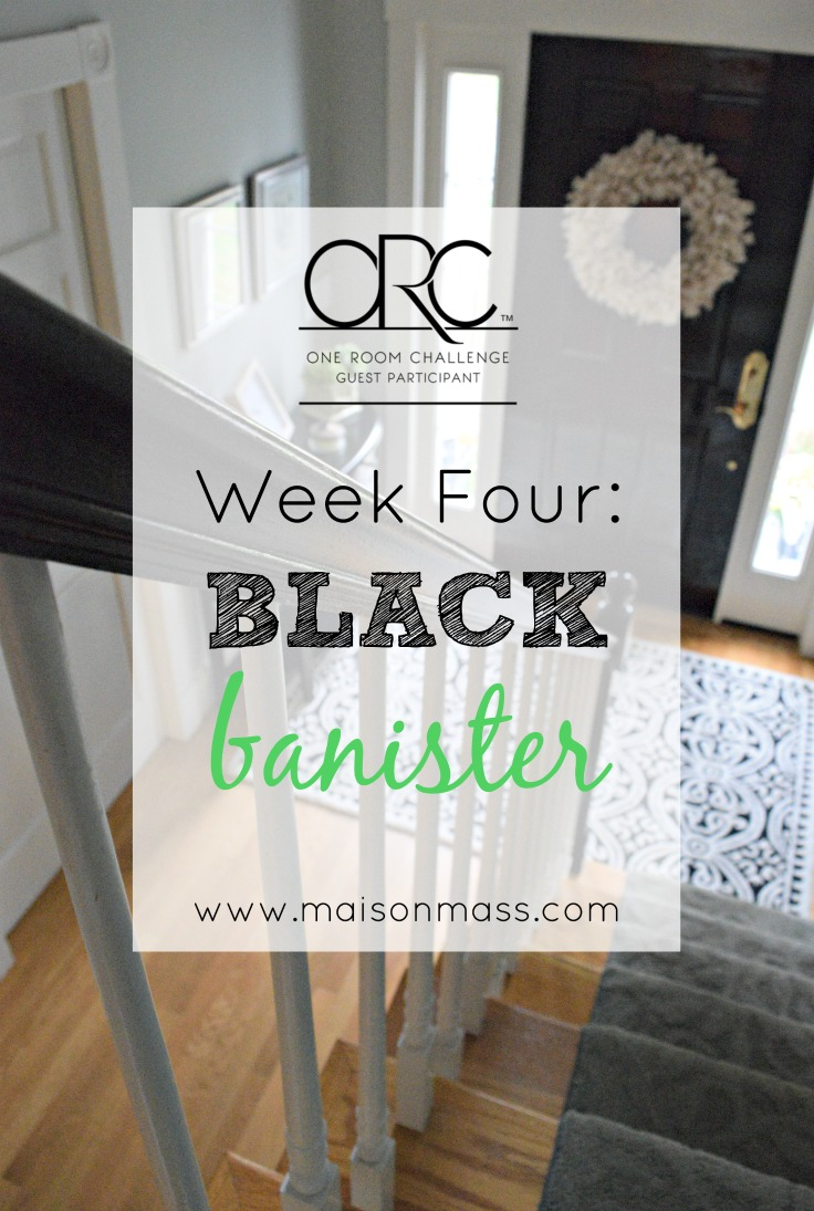 Black Banister Feature