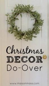 Christmas Decor Do-Over Feature