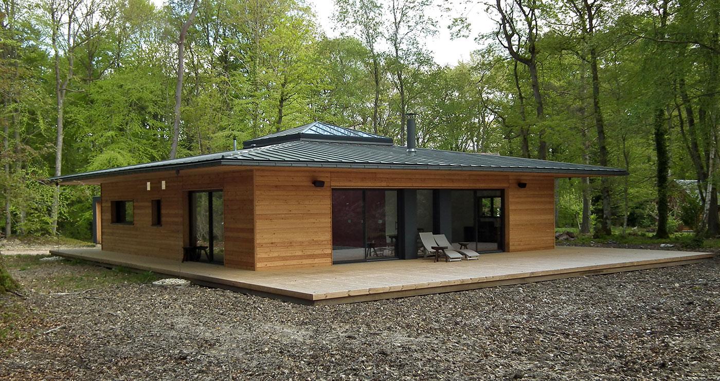 Prix maisons en bois prix maison bois cls en mains kit for Modele maison ossature bois