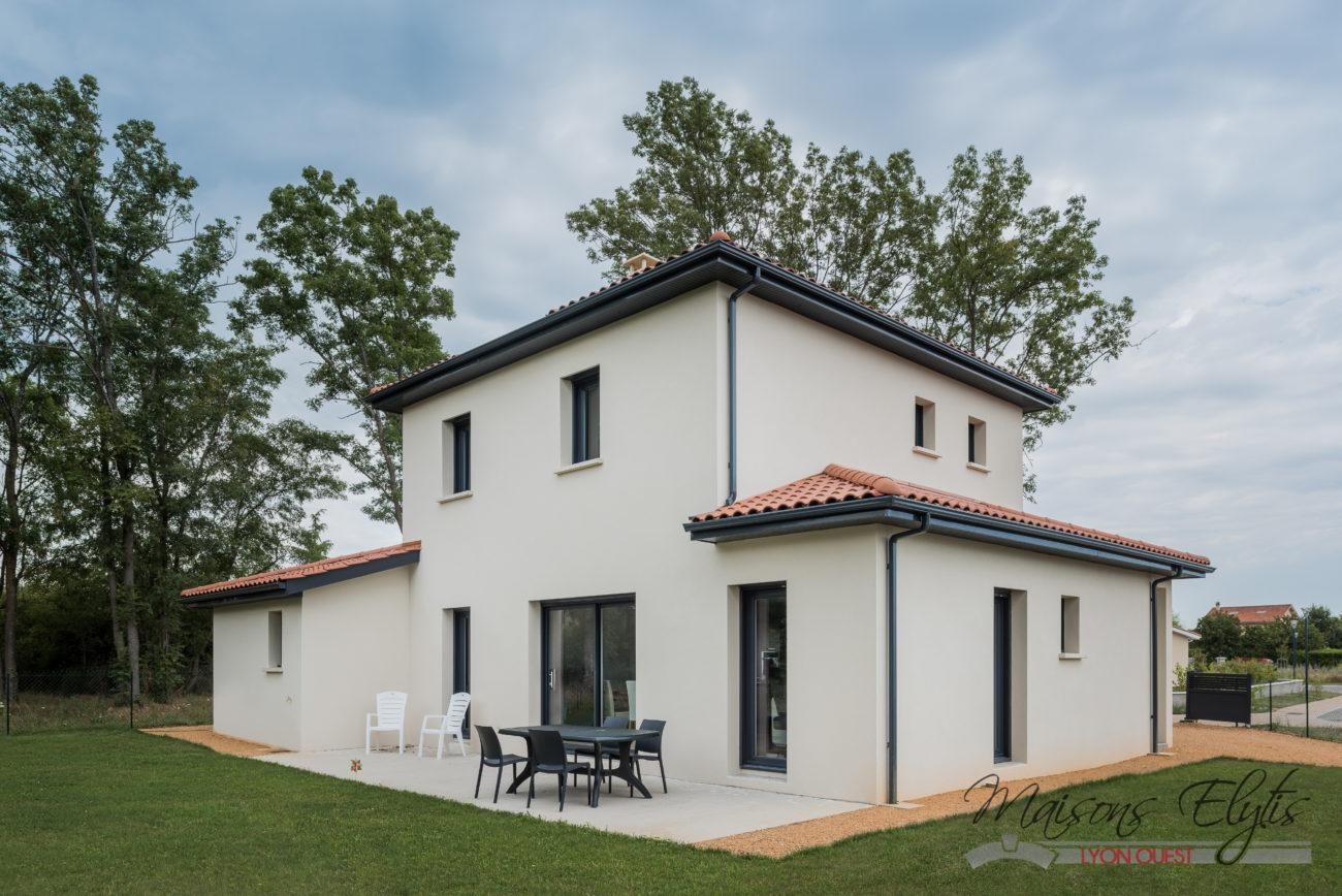 Beautiful plan maison toit plat plain pied plan maison - Maison elytis ...