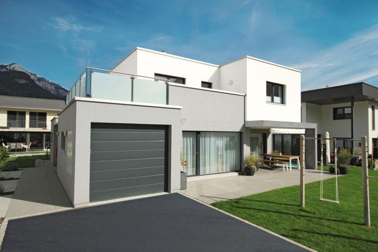 Par sa forme cubique, cette maison attire l'attention dans le quartier.