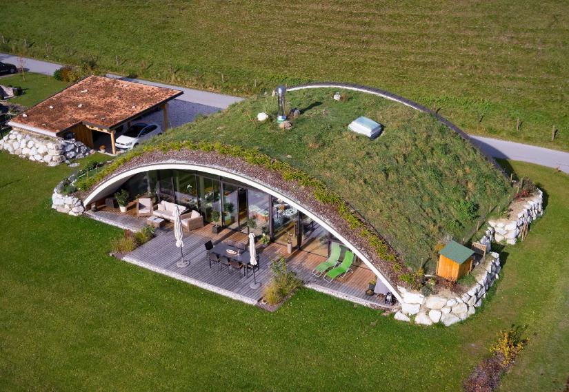 Projet Bogenhaus - Autriche - Vue aérienne