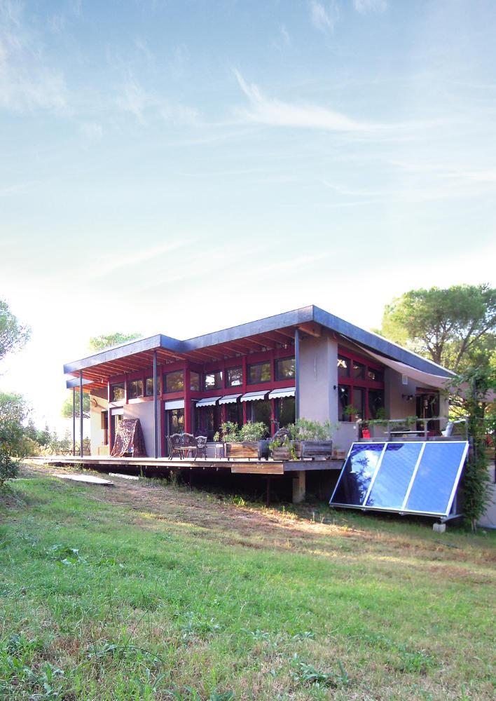 Tour de France des maisons écologiques, Béton paille