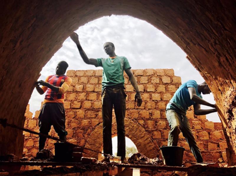 Construction de la case de santé de Méri (Sénégal)