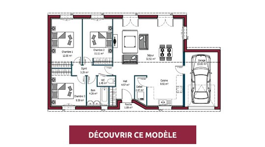 plans de maisons contemporaines