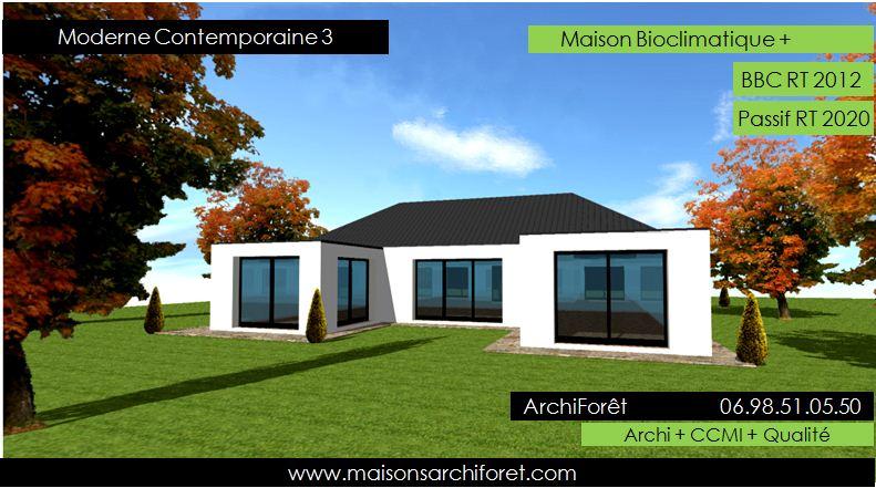 Plan Maison Moderne 3d Appartementero   Moregs