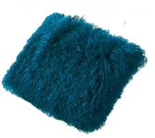 Housse de coussin en laine