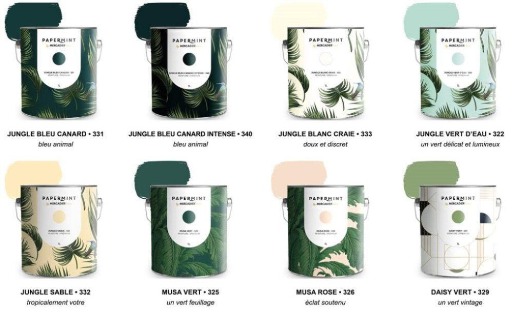 Nouveauté : La gamme peinture PaperMint