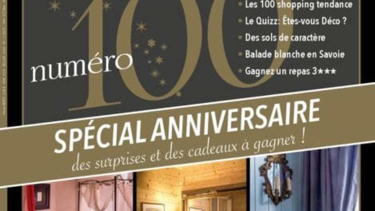Maisons à Vivre Campagne N°100 – le numéro spécial anniversaire !