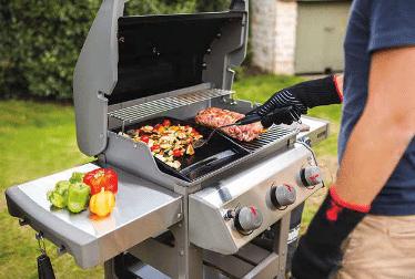 Barbecue à gaz - Weber
