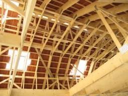 Charpente et couverture - construction maison