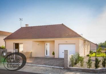 Construction d'une maison de plain-pied dans l'Allier
