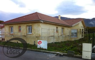 Phase enduit - construction maison 38