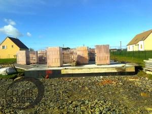 Construction maison Orne - Elévation des murs
