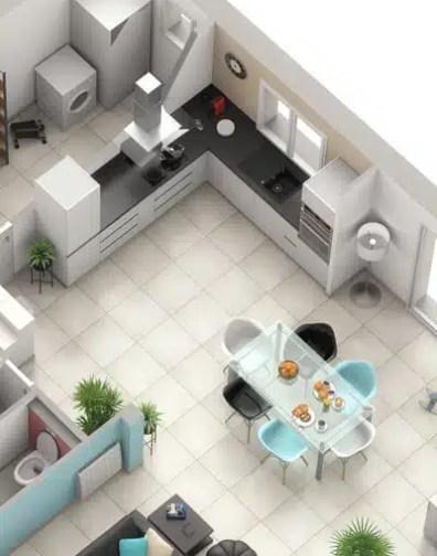 Plan maison gratuit Jasmin - maison avec combles aménagés