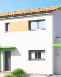 Maison individuelle Poitevine- habillage de façade