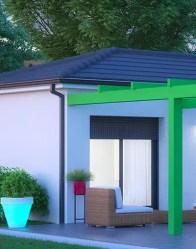 Maison moderne Cocoon - accès terrasse