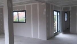 Construction maison - installation cloisons