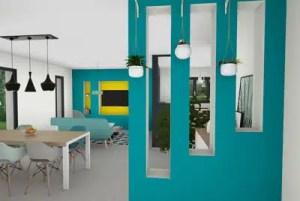 Niche décorative - maison individuelle
