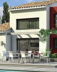 maison contemporaine Agate - terrasse